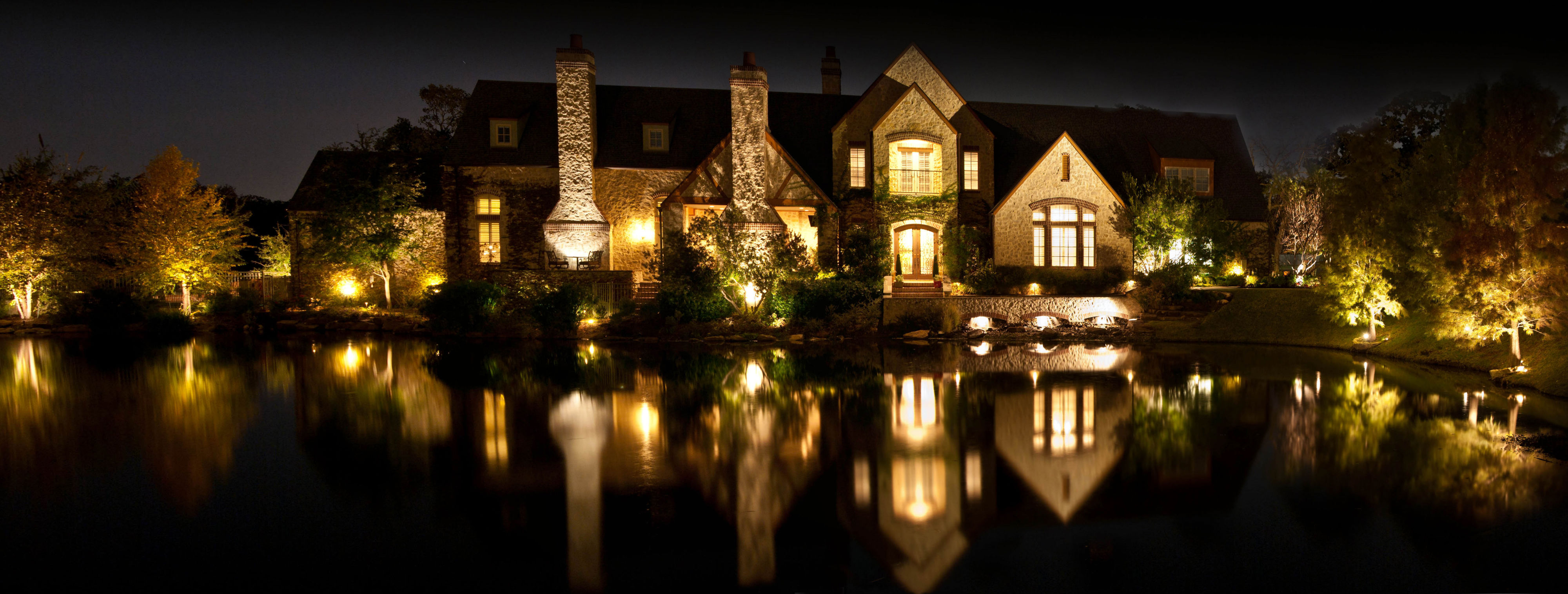 Enhance Curb Appeal Instantly With Landscape Lighting