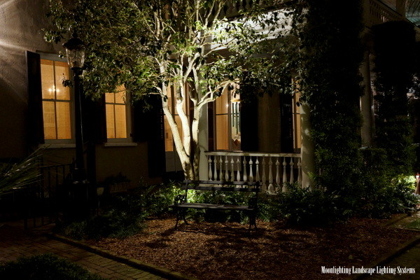 Enhance curb appeal instantly with landscape lighting ogs down lighting aloadofball Choice Image