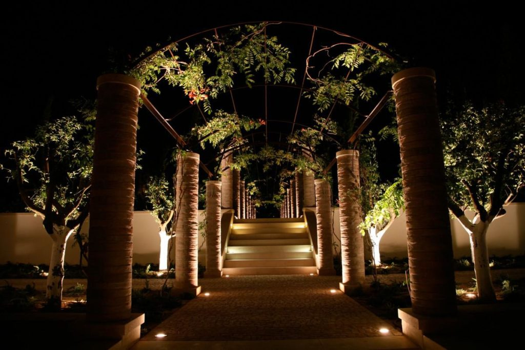 Enhance curb appeal instantly with landscape lighting ogs property pathway lighting aloadofball Images